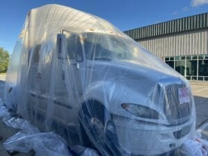 fumigating bed bugs to semi-trucks