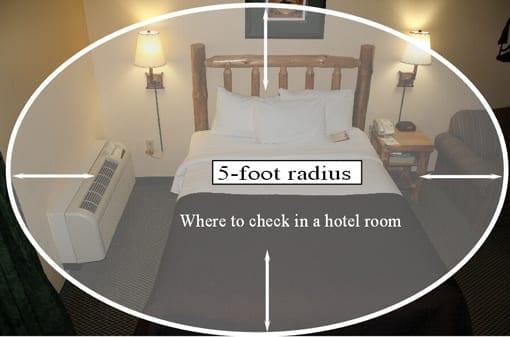 hotel-bedbug-check-area